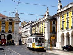 Eléctrico em Lisboa, Portugal