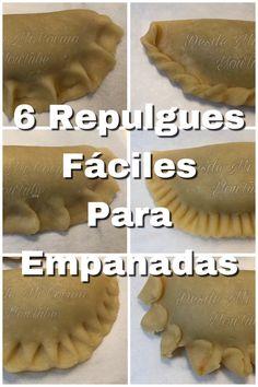 Latin Food, Kitchen Recipes, Cooking Recipes, How To Make Braids, Tostadas, Enchiladas, Empanadas Recipe, Pub Food, Pie Crust Recipes