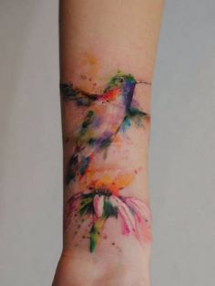 http://inkbe.com #inkbe #tattoo While the practice of tattoos has been around for centuries, tattoos imitating watercolor painting are relatively new, as well as revolutionary. Watercolor tattoos imitate the brushstrokes, patterns, and style of paintings created in watercolors, in particular the vibrant colors and detail to hue a...
