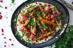 Radis, carottes et pois chiches rôtis - Qblog