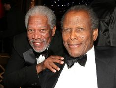 Pictures & Photos of Sidney Poitier - IMDb. With Morgan Freeman Celebrities Then And Now, Black Celebrities, Old Hollywood Movies, Classic Hollywood, Hollywood Stars, Olivia De Havilland, Ernest Hemingway, Famous Black Americans, Ebony Magazine Cover