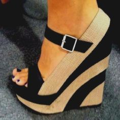 Buy fashion wedges shoes from shoespie. It offers you some cheap wedge shoes of different styles:printed wedge heels, strappy wedges boots, summer wedge sandals are standing for good quality. Page 3 Zapatos Shoes, Women's Shoes, Shoe Boots, Platform Shoes, Golf Shoes, Dior Shoes, Platform Wedge, Louboutin Shoes, Dress Shoes