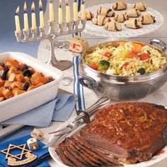 Old-Fashioned Hanukkah Menu  Taste of Home readers from around the country share their favorite Hanukkah recipes.