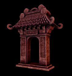 ArtStation - Pandaren Temple, Robert (Max) Ramirez