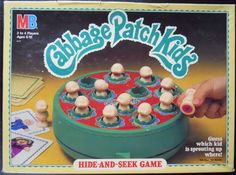 MILTON BRADLEY: 1984 CABBAGE PATCH KIDS Hide-And-Seek Game