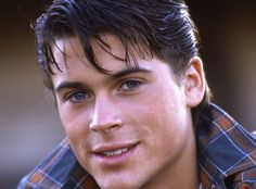 Young Rob Lowe as Sodapop Curtis in The Outsiders 1983