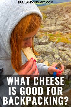 Cheese can be one of the most delightful snacks to enjoy while out on a backpacking trip. Cheese is a great source of calcium, protein, and fat. In this article, I'll detail some of the better cheese Best Backpacking Food, Hiking Food, Hiking Tips, Ultralight Backpacking, Camping And Hiking, Kayak Camping, Camping Hammock, Winter Camping, Hiking Gear
