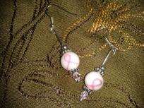 Breast Cancer Awarness Earrings