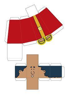 CRIANÇA MANIA: NASCIMENTO DE JESUS-BIBLE PAPER TOYS
