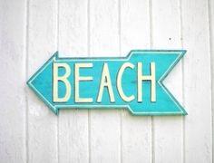 Beach this way...