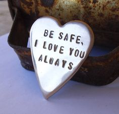 I love my boys I heart my kids Police Officer by CandTCustomLures