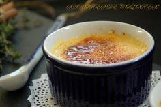 Sabores de colores: Creme brulee aromatizada con limón, canela y tomillo