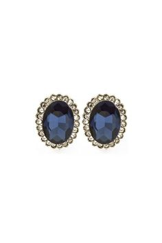 Beautiful sapphire and diamond earrings <3