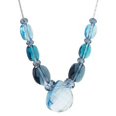 Waves Of Blue Necklace | Fusion Beads Inspiration Gallery