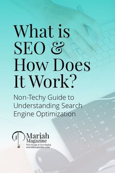 What is SEO & How Does It Work? What is SEO (search engine optimization)? Here are the tips you need for making SEO work for you. Seo Marketing, Digital Marketing Strategy, Affiliate Marketing, Online Marketing, Content Marketing, Internet Marketing, Online Advertising, Marketing Strategies, Business Marketing