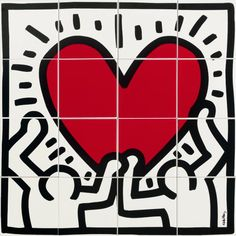 GAME OF FIFTEEN - KEITH HARING - MAIN ARTWORK