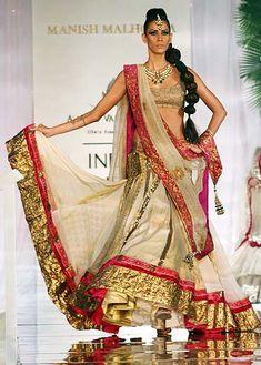 #ManishMalhotra bridal #lehenga #fashion