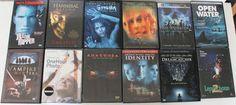 DVD Lot 12 Movies Horror Scary Leprechaun Final Destination 2 Hannibal Rising