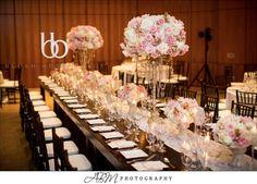 Blush Botanicals www.blushbotanicals.com peony, blush wedding, pink wedding, blush centerpiece, pink centerpiece, lace wedding photo by ABM photography