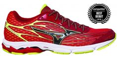 ROAD RUNNING SHOES—Best Debut (tie): Mizuno Wave Catalyst, $110. Need to try. Love the color!