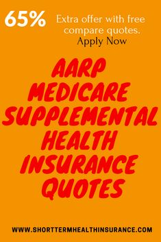 quotes Learn about Medicare supplemental plans, also called including the types of plans, features, and how they complement other Life Insurance Cost, Life Insurance For Seniors, Life Insurance Companies, Health Insurance Plans, Insurance Quotes, Mortgage Protection Insurance, Supplemental Health Insurance, Types Of Planning, Insurance Benefits