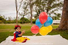 baby girl photo shoot snow white