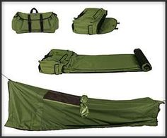 Convenient Camping Gear - Carry Everything in One Place with the Backpack Bed