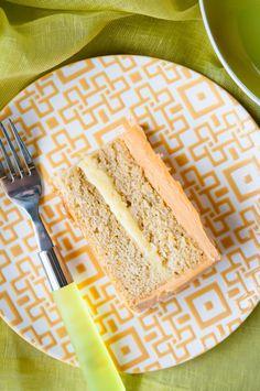 Creamsicle Cake: Orange Cake w/ Orange Curd Filling @Ken Leung