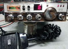 REDUCED! Vintage Johnson CB Radio Base Desk Mic Microphone