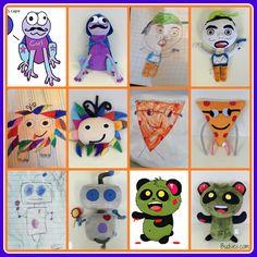Budsies.com turns drawings into stuffed animals!