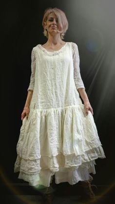 ❤ Ewa I walla Dress 55407 SS15 Cream + Skirt 22681 SS13 Nature ❤
