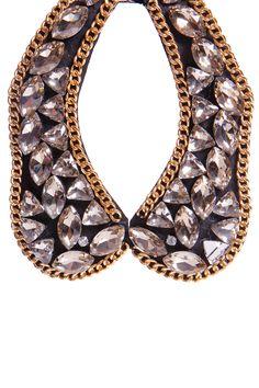 Glam up any look with the Aleeza Heavy Jewel & Chain Collar >> http://www.boohoo.com/restofworld/accessories/new-in-accessories/icat/newinaccessories/christmas-catalogue/aleeza-heavy-jewel-and-chain-collar/invt/azz56983