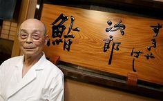 sukiyabashi jiro, tokyo. best sushi chef in the world. ¥30,000 per person. reserve a month in advance.
