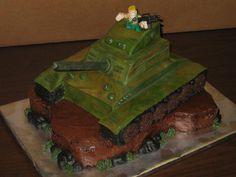 G.I.Joe Birthday Cake Tank