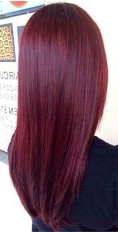 Ruby Red with jets of red violet. Could this be considered a professional hair color? lol