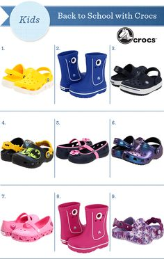 Crocs for the kiddies!