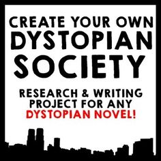 Create Your Own Dystopian Society!  This Common Core aligned research and writing project can be used with ANY dystopian or utopian novel study!  Hunger Games, The Giver, Divergent, Brave New World, Fahrenheit 451, Animal Farm, 1984 & more!  This product has been aligned to 8th grade standards, but due to its generic nature it can be used in any grade from 7-12.In this project, students will research different forms of government, answer critical thinking questions, brainstorm and plan to…