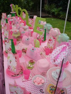 """English High Tea"" Party by Treasures and Tiaras Kids Parties, via Flickr"