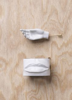 BROOCH AND MANCHETTE - Spring / Summer Runway 2015 collections - Jewellery | CÉLINE