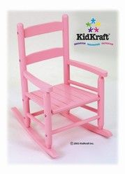 Kidkraft Rocking Chair in Pink 18104Kidkraft Spindle Rocking Chair   Cherry 18331   Kidkraft Furniture  . Kidkraft Rocking Chair Cherry. Home Design Ideas