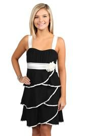 I have this with a zebra patterned bottom! :)