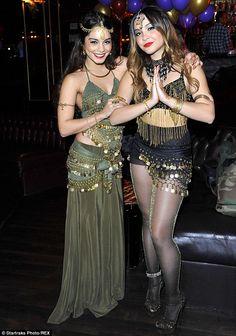Nov 16, 13: Vanessa Hudgens helps little sister Stella celebrate 18th birthday with Bollywood + Bellydance themed bash http://www.dailymail.co.uk/tvshowbiz/article-2509702/Vanessa-Hudgens-helps-little-sister-Stella-celebrate-18th-birthday-Bollywood-themed-bash.html#ixzz2lskV7oFH