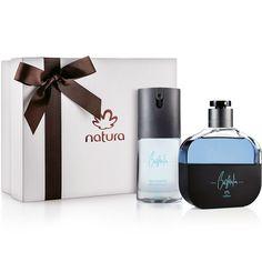 Presente Natura Biografia | Com fragrância amadeirada leve e notas de cedro, o Presente Natura Biografia oferece um ritual completo de perfumação para o homem.
