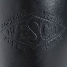 The Bootery/Wesco® - Boss Engineer - Black Domain Mens Redwing Boots, Red Wing Boots, Engineer Boots, Black Tie, Boss, Engineering, Leather, Ranger, Iron