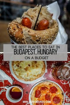 Where to find cheap food in Budapest that tastes great!   Where to eat in Budapest, Hungary   Budget travel   Eating in Europe   Hungarian food #budapest #budgettravel