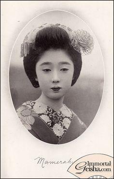 Japanese Geisha, Japanese Beauty, Vintage Japanese, Old Pictures, Old Photos, Vintage Photos, Cherry Blossom Girl, Japan Garden, Memoirs Of A Geisha