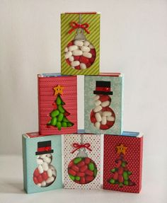 Snippets By Mendi: Day 24- A Papertrey Ink Happy Hexagons Holiday Card