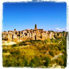 Pitigliano South of Tuscany....