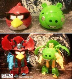 Na China já existem Angry Birds Transformers, mas talvez a Rovio ainda não saiba…