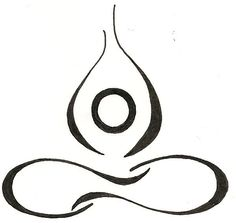 Yoga Lotus Drawing Original Tattoo. $12.00. @Jolien D Holistic and Natural Healing I am so getting this tattoo :-)